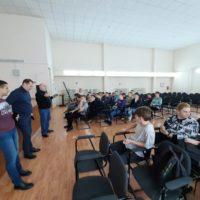 Встреча со студентами ГАПОУ ПО «Пензенский колледж архитектуры и строительства».