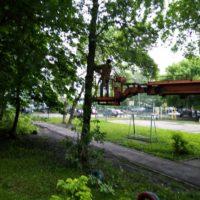 Выполнена опиловка деревьев по адресу:  ул. Рахманинова, 34